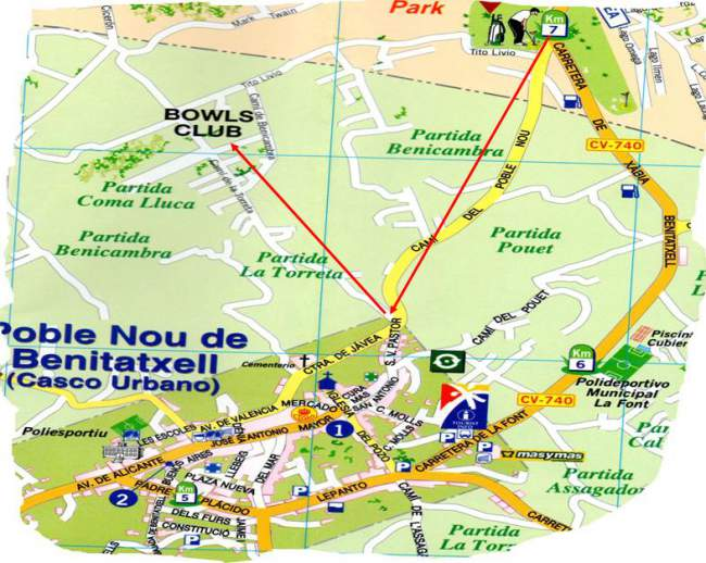 Benitachell-Map Bowls Benitachell