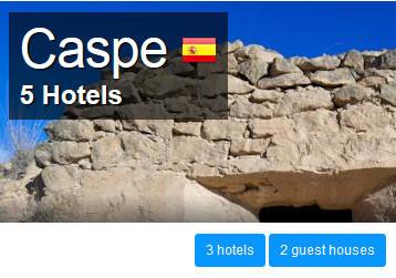Caspe-Hotels
