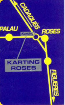 Roses Karting Directions costa brava INDEX