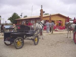 horse-cart El rancho Green Bowling club