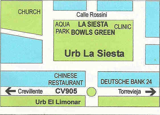 La-Siesta-Bowls-Club-Map Bowls La Siesta
