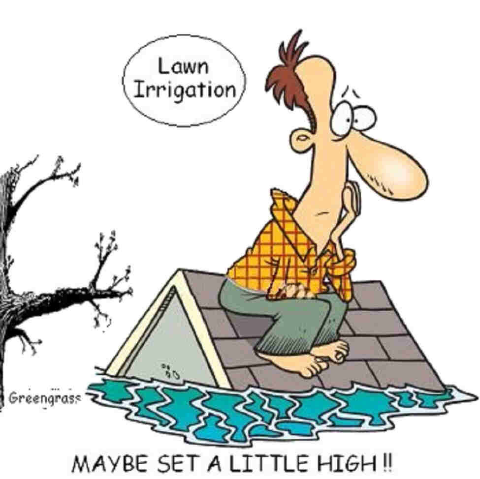 Lawn-Irrigation