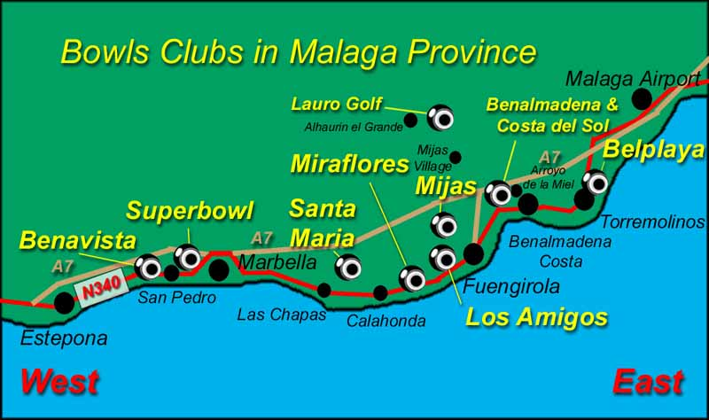 costa del sol bowling BOWLS-CLUBS-MALAGA costa del sol club index