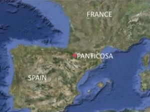 Map-Panticosa panticosa spa