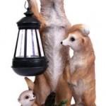 gardening Meercat Lantern