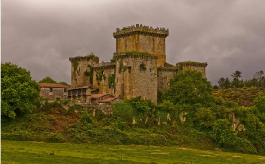 Pambre Castle Santiago de Compostela