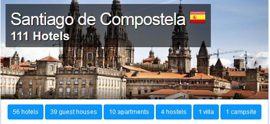 Santiago-de-Compostela-HOTELS Santiago de Compostela