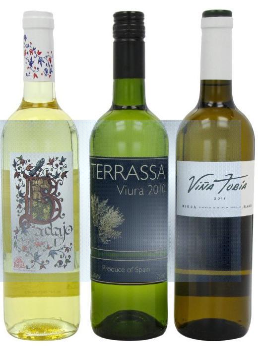 Wine Spanish White Mixed Case of Wine