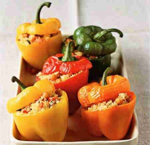 bell-peppers-Stuffed bell peppers