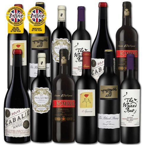 Mixed pack wine
