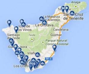 Bookings-Map-Tenerife