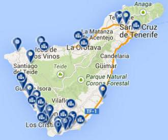 Bookings-Map-Tenerife