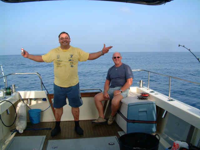Deep sea trolling 30 miles plus