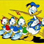 Donald-Duck-and-Gang Spanish Fishing