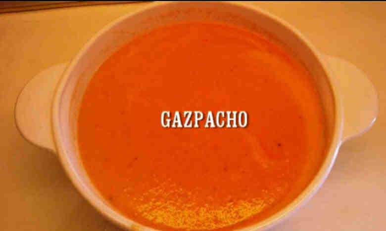 Spanish Tomato Soup traditional recipe of GAZPACHO » Spain ...