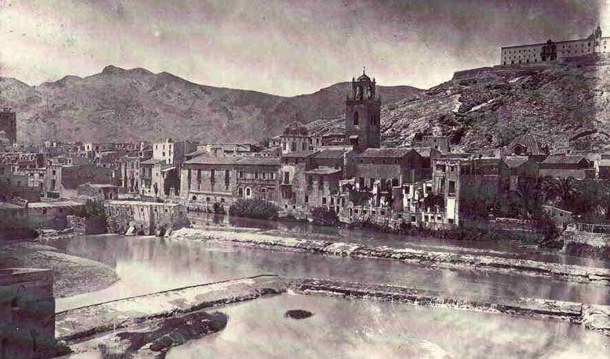 Old-Photo-Orihuela-1870 Treaty of Orihuela