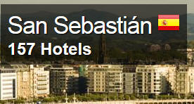 San-Sebastion-Hotels Campsites Basque