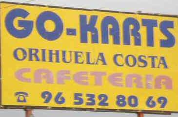 Go-Kart sign