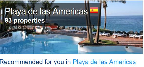 playa-las-americas Tenerife holiday info