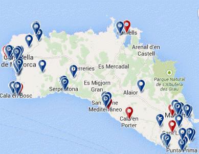 Accommodation-Menorca