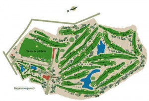 El Plantio course map