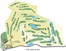 la sella-course-map
