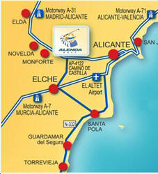 map-alenda Golf Club