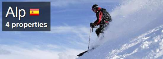 skiing spain Alp Accommodation