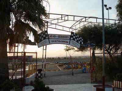 San Fulgencio Go-Kart-Entrance