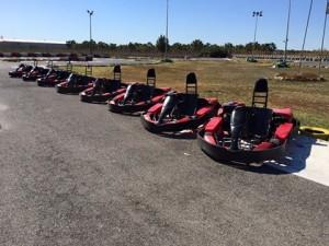 Go Karts San Fulgencio go-kart-line-up