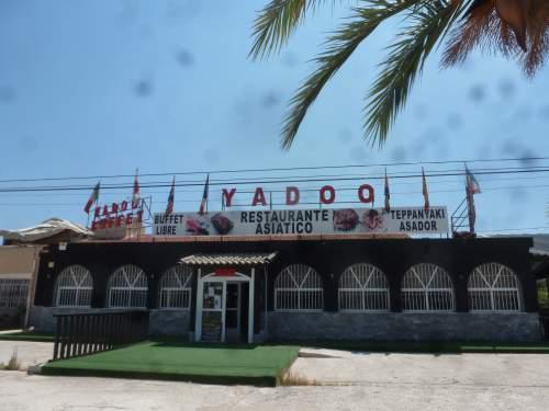 Yadoo Chinese outside