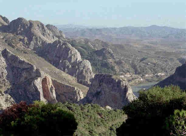 el choro view rock climbing