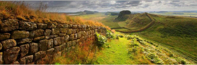 Hadrians Wall Eagle has Fallen