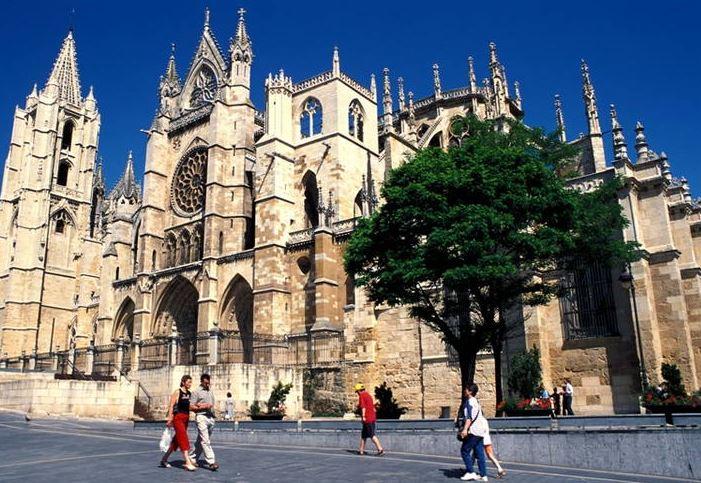 Santiago de Compostela Santiago Church view