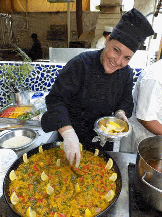 Chef Vegetable Paella