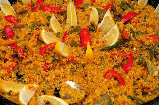 Vegetable Paella Vegetable-paella