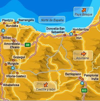 Basque-Map Cabins Bungalows Basque