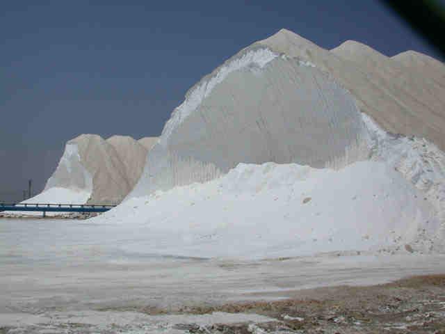 Santa Pola Natural Park Salt