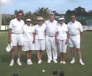 La Manga Bowls Club members