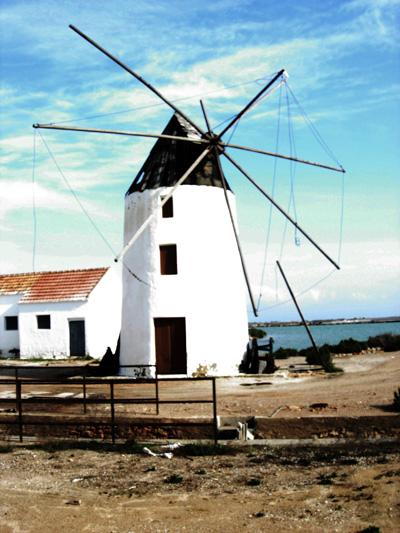 Windmill San Pedro Natural Park Regional Park San Pedro del Pinatar