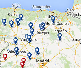 Cantabria Costa Verde Accommodation-Castella-y-Leon Cantabria