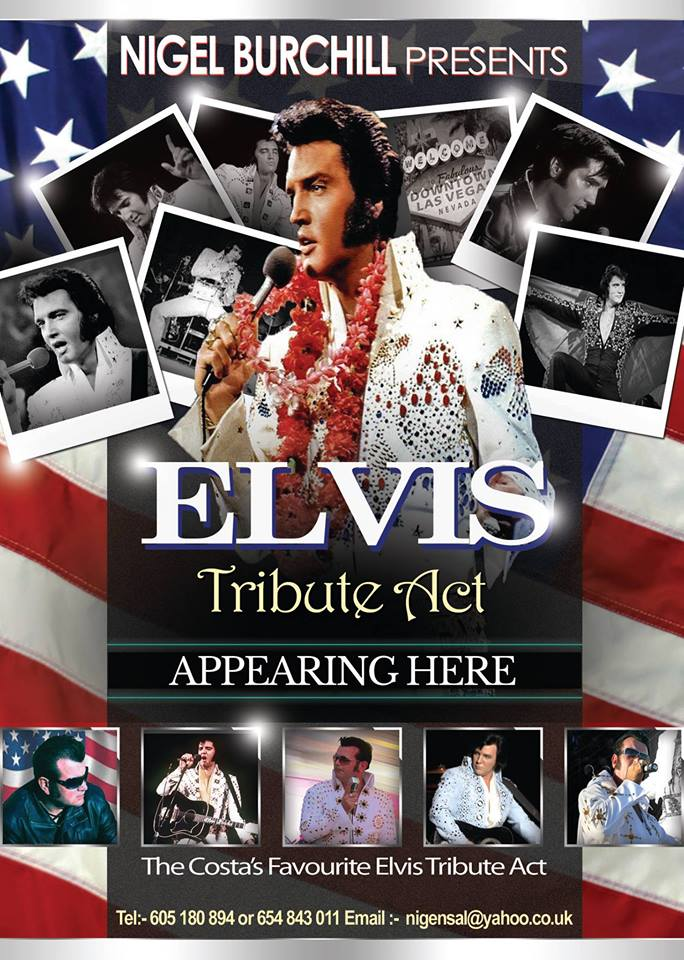 Nigel Burchill Elvis Act poster