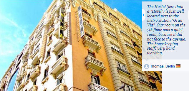 Hostal Pereda Madrid