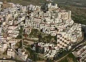 Mojacar Village Scene