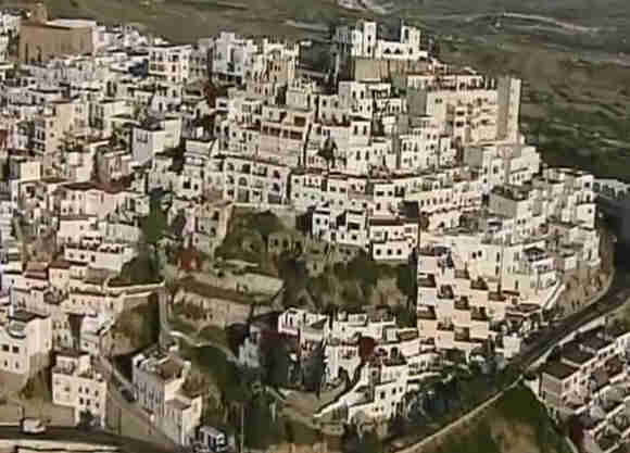 Mojacar Village Scene Mojacar Village