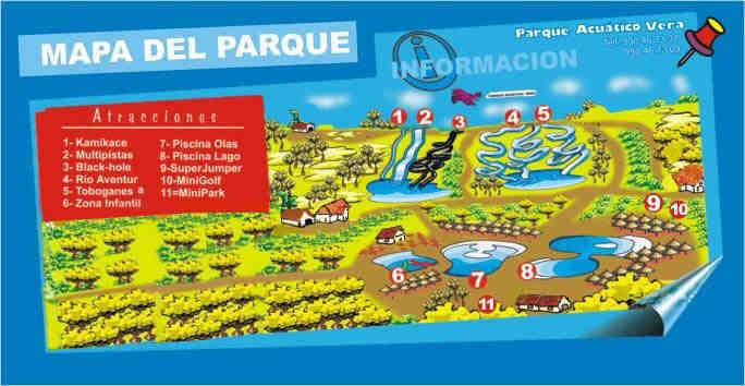 aqua park map full