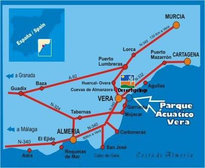 aqua park map