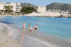moraira beach children
