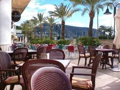moraira pavement cafe