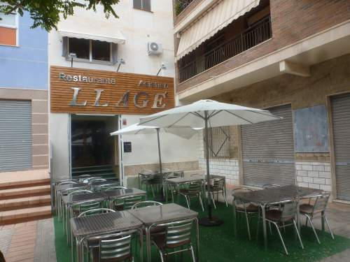 Llage front entrance